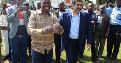 Envoys pledge to support development in Trans Nzoia County.