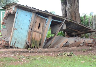 Trans Nzoia school closed as 16 toilets collapse.
