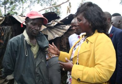 Jiggers Menace: Uasin Gishu woman rep greeted with misery in her tour.
