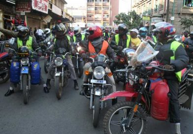 Boda boda riders in Baringo to undergo road safety training.