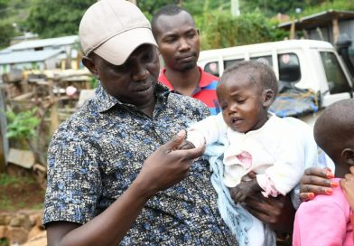 Applause as MP Sudi adopts two children.