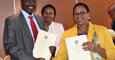 North rift counties sign Universal Health Care agreements with government.