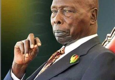 Former President Daniel Moi is dead.