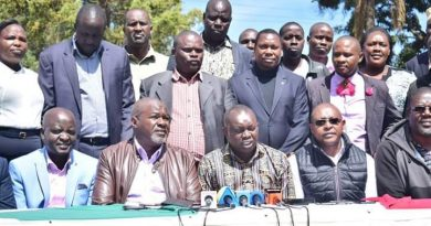 North Rift polliticians hit out at individuals using BBI for ethnic profiling.