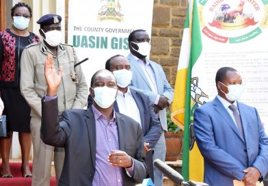 Mandago urges truck drivers to protect their families.