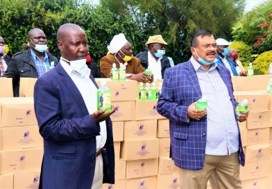 Kesses MP distributes hundreds of cartons of hand sanitizers  in fight against Coronavirus.