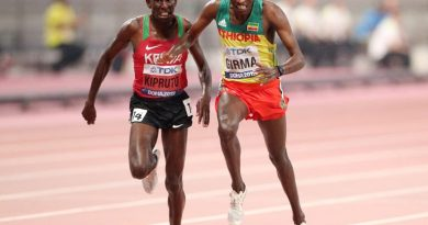 Conseslus Kipruto tests positive for Covid-19.
