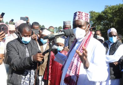 Mandago thumps up clergy on covid prevention.