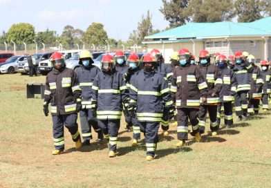 30 county sponsored fire fighters graduate.